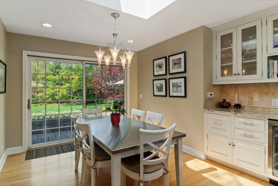Real Estate Photography - 344 S Bristol, Arlington Heights, IL, 60005 - Breakfast Nook