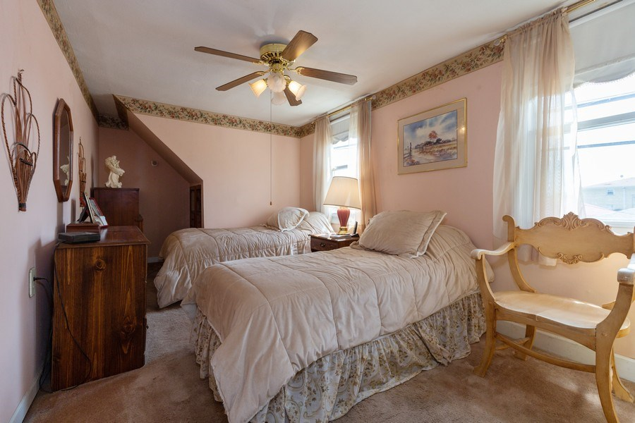 Real Estate Photography - 4548 N. Newland, Harwood Heights, IL, 60706 - Bedroom