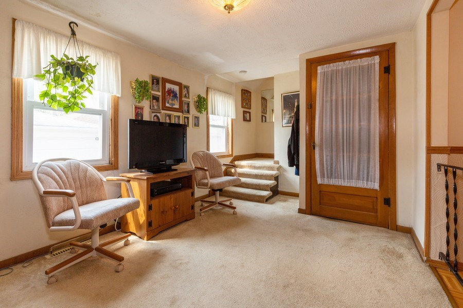 Real Estate Photography - 4548 N. Newland, Harwood Heights, IL, 60706 - Sitting Room