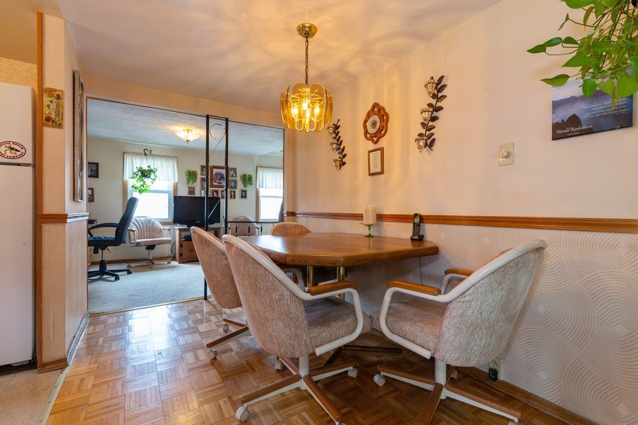 Real Estate Photography - 4548 N. Newland, Harwood Heights, IL, 60706 - Dining Room