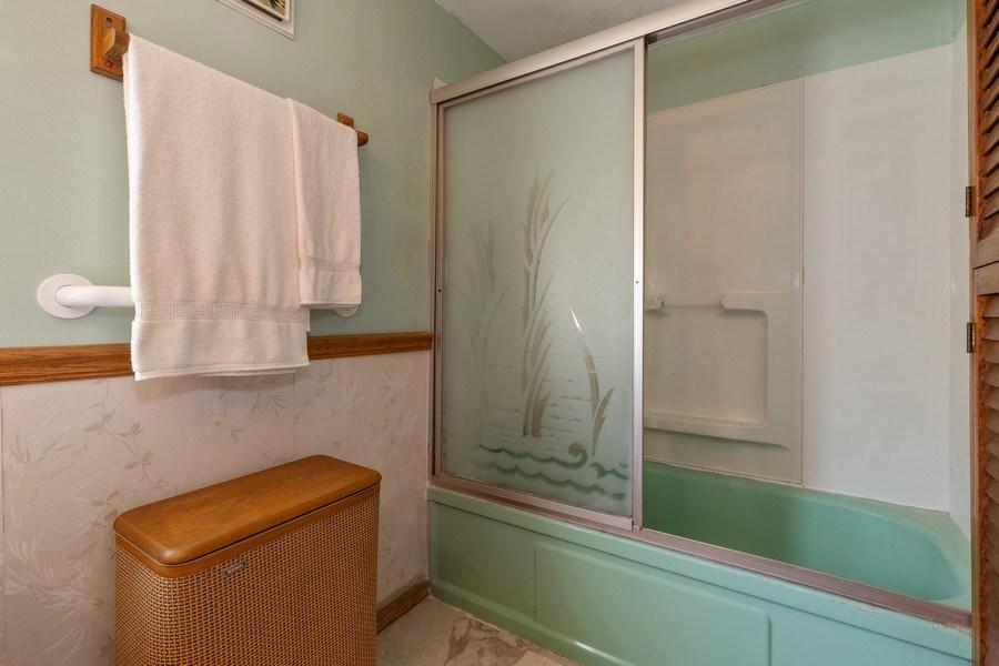Real Estate Photography - 4548 N. Newland, Harwood Heights, IL, 60706 - Bathroom