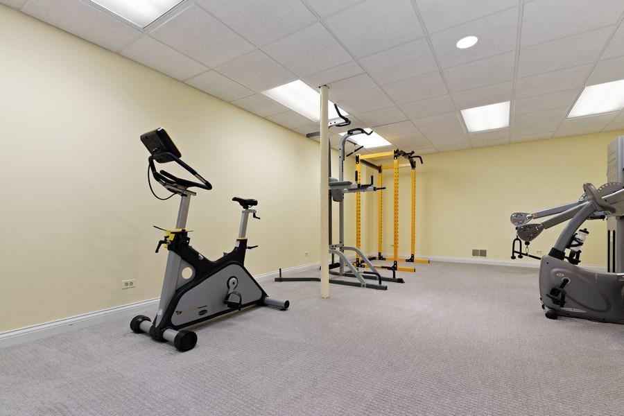 Real Estate Photography - 1955 Telegraph Road, Bannockburn, IL, 60015 - Exercise Room