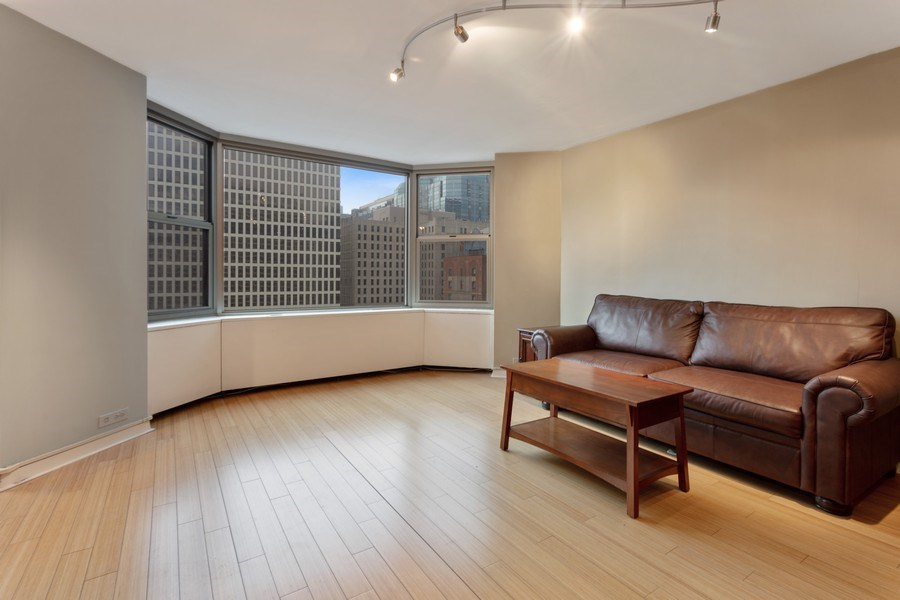 Real Estate Photography - 535 N. Michigan, 2016, Chicago, IL, 60611 - Living Room