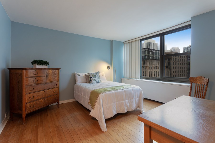 Real Estate Photography - 535 N. Michigan, 2016, Chicago, IL, 60611 - Bedroom