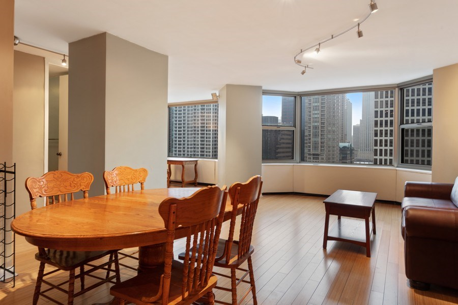 Real Estate Photography - 535 N. Michigan, 2016, Chicago, IL, 60611 - Dining Area