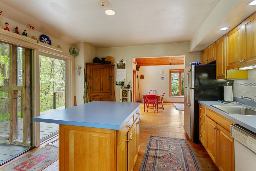 Real Estate Photography - 14385 Pinewood Dr, New Buffalo, MI, 49117 - Kitchen / Dining Area