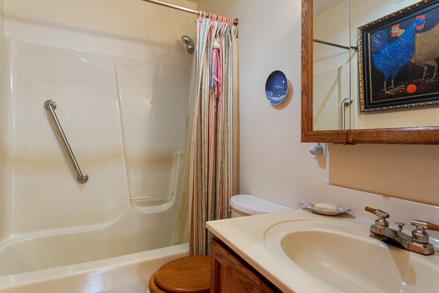 Real Estate Photography - 14385 Pinewood Dr, New Buffalo, MI, 49117 - Bathroom