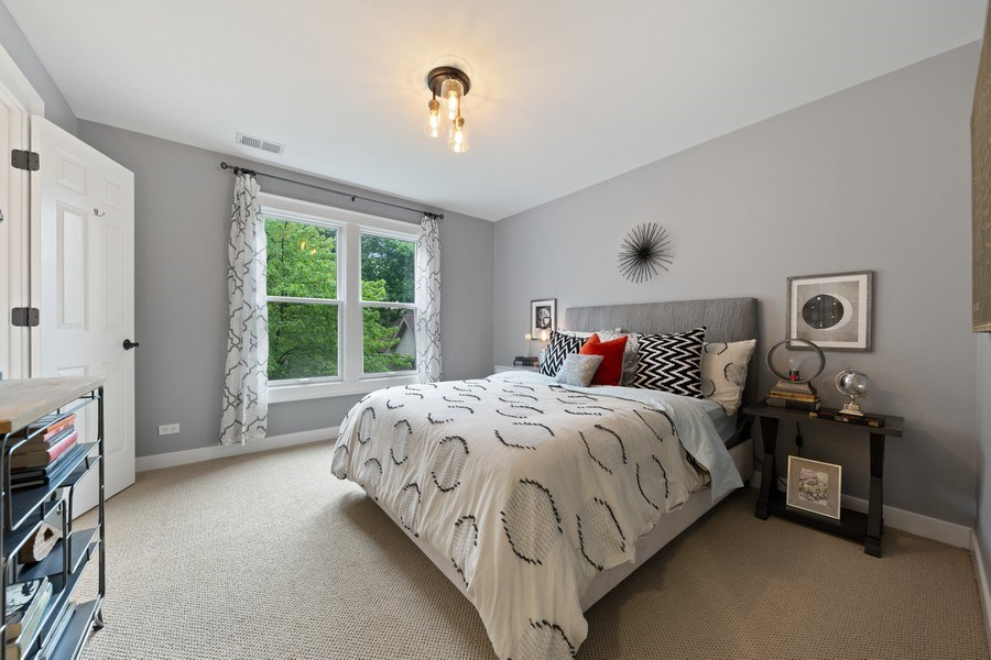 Real Estate Photography - 121 N Park Ave, Hinsdale, IL, 60521 - 4th Bedroom