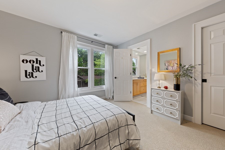Real Estate Photography - 121 N Park Ave, Hinsdale, IL, 60521 - 3rd Bedroom