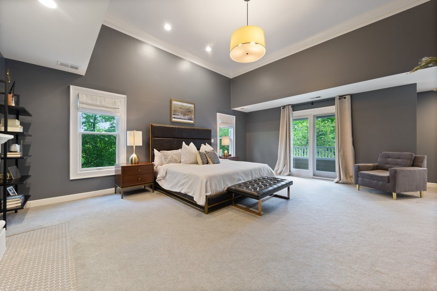 Real Estate Photography - 121 N Park Ave, Hinsdale, IL, 60521 - Master Bedroom