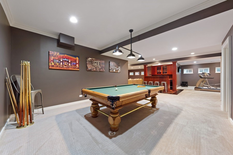 Real Estate Photography - 121 N Park Ave, Hinsdale, IL, 60521 - Basement