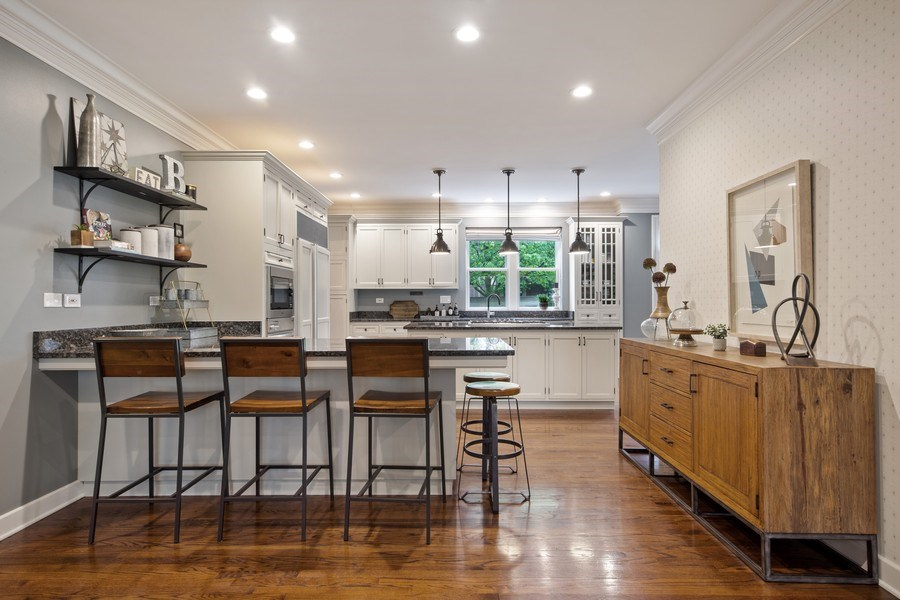 Real Estate Photography - 121 N Park Ave, Hinsdale, IL, 60521 - Kitchen