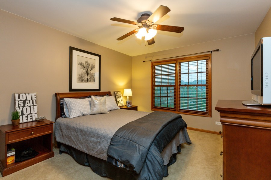 Real Estate Photography - 2167 Brookwood, South Elgin, IL, 60177 - 2nd Bedroom
