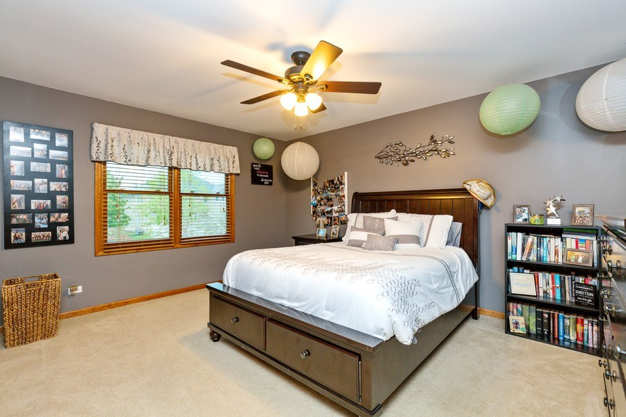 Real Estate Photography - 2167 Brookwood, South Elgin, IL, 60177 - 4th Bedroom