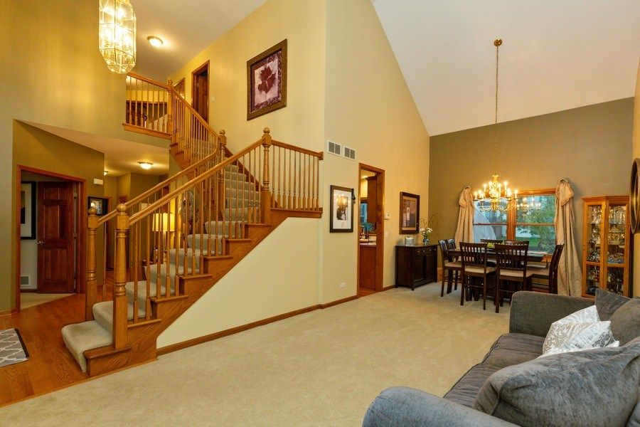 Real Estate Photography - 2167 Brookwood, South Elgin, IL, 60177 - Living Room