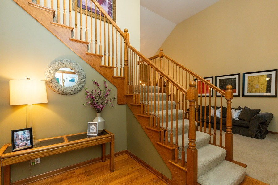Real Estate Photography - 2167 Brookwood, South Elgin, IL, 60177 - Foyer