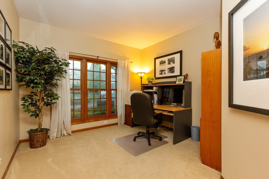 Real Estate Photography - 2167 Brookwood, South Elgin, IL, 60177 - Office