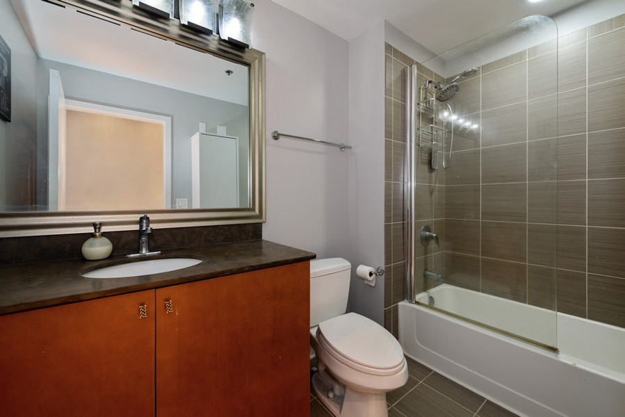 Real Estate Photography - 303 W. Ohio St., 1502, Chicago, IL, 60654 - Bathroom