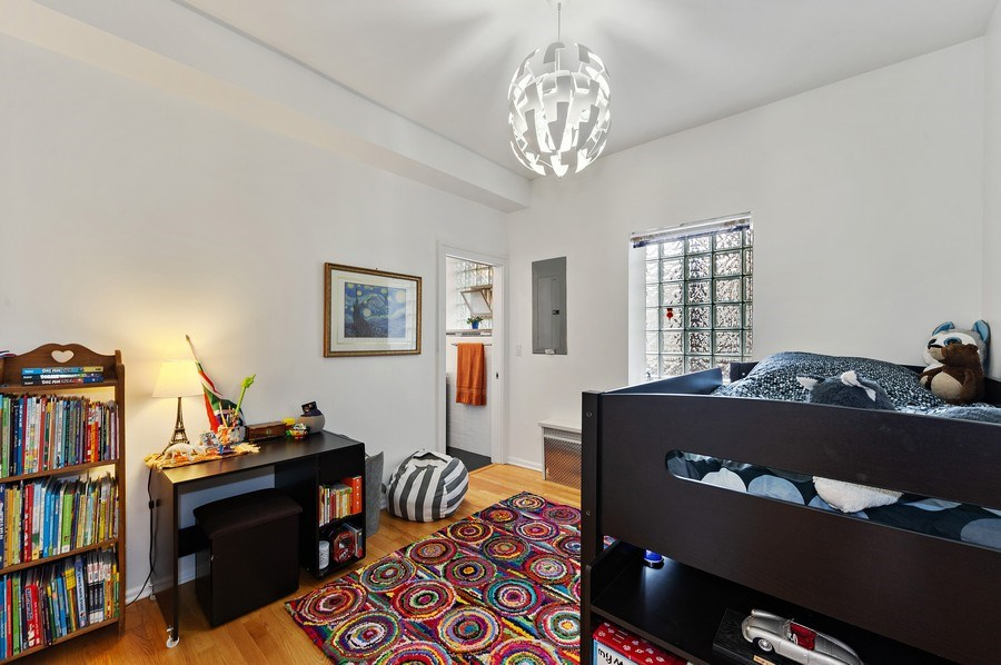 Real Estate Photography - 455 West Oakdale, Unit 3, Chicago, IL, 60657 - Bedroom 3