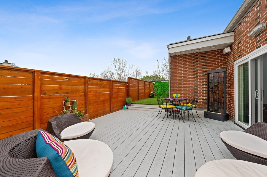 Real Estate Photography - 455 West Oakdale, Unit 3, Chicago, IL, 60657 - Roof Deck