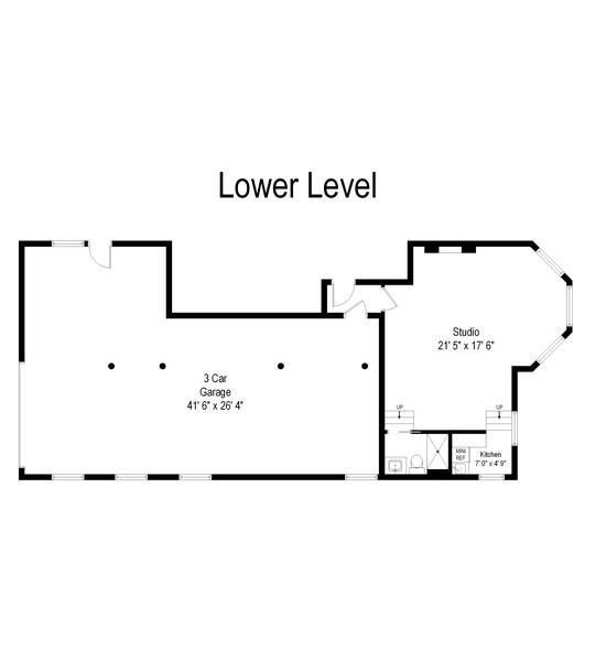 Real Estate Photography - 455 West Oakdale, Unit 3, Chicago, IL, 60657 - Floor Plan