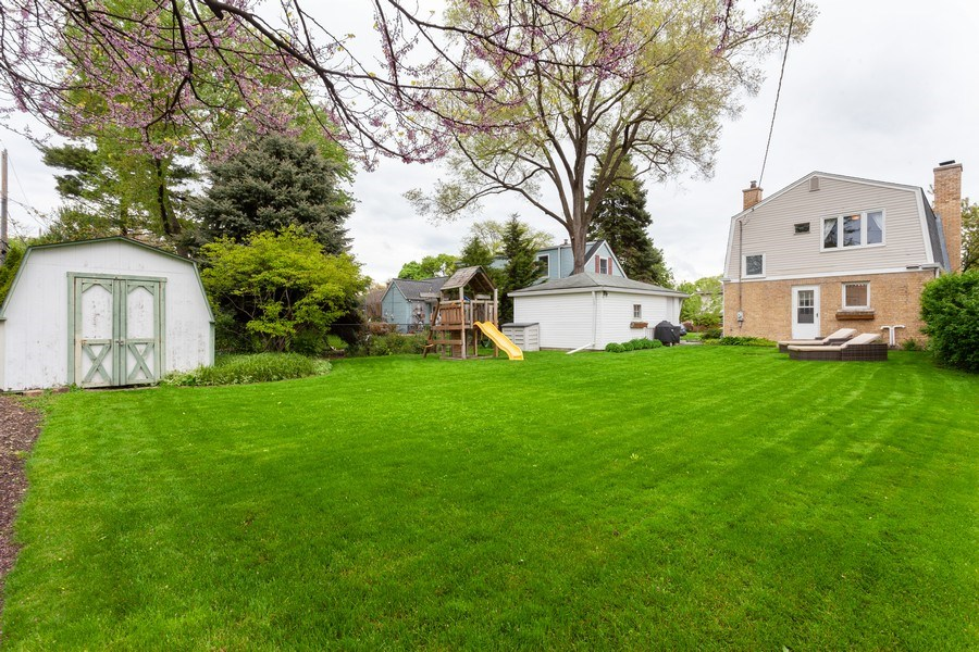 Real Estate Photography - 718 S. Chestnut, Arlington Heights, IL, 60005 - Rear View