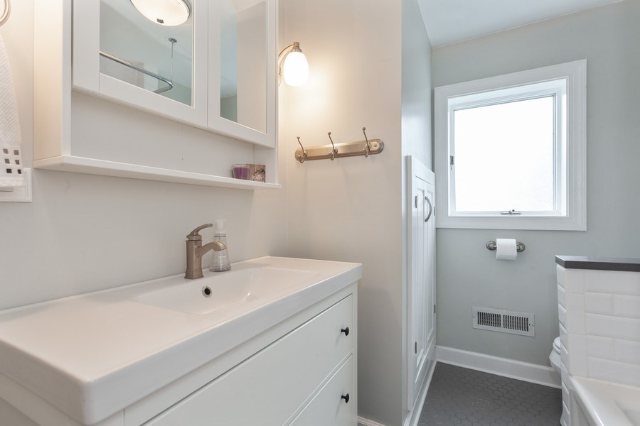 Real Estate Photography - 718 S. Chestnut, Arlington Heights, IL, 60005 - Bathroom
