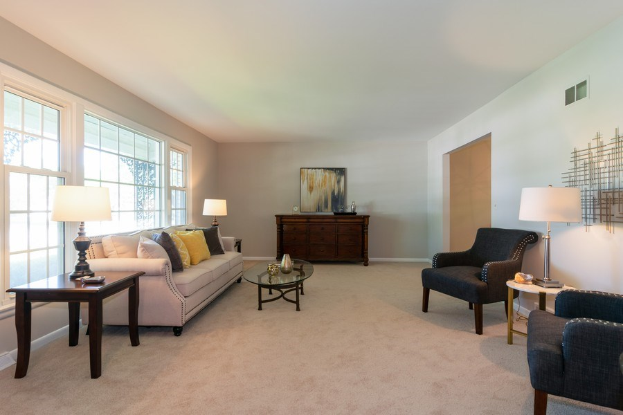 Real Estate Photography - 1739 N. Dover Lane, Arlington Heights, IL, 60004 - Living Room