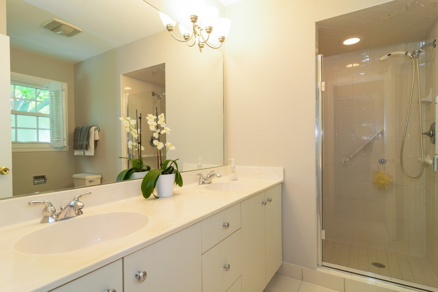 Real Estate Photography - 1739 N. Dover Lane, Arlington Heights, IL, 60004 - Master Bathroom