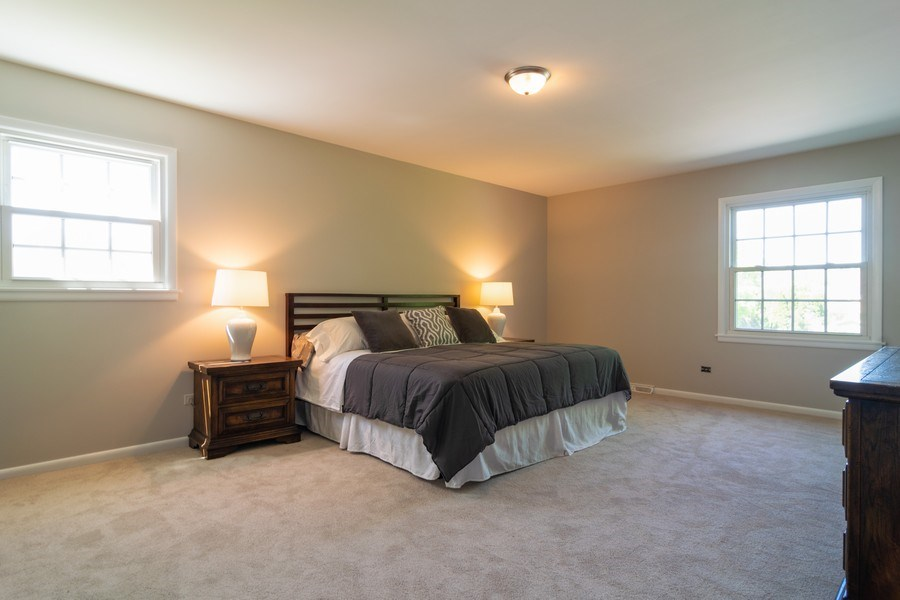 Real Estate Photography - 1739 N. Dover Lane, Arlington Heights, IL, 60004 - Master Bedroom