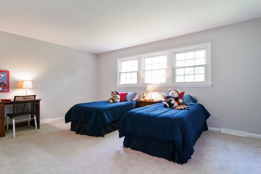 Real Estate Photography - 1739 N. Dover Lane, Arlington Heights, IL, 60004 - Bedroom Two