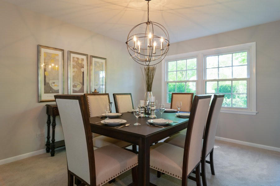 Real Estate Photography - 1739 N. Dover Lane, Arlington Heights, IL, 60004 - Dining Room