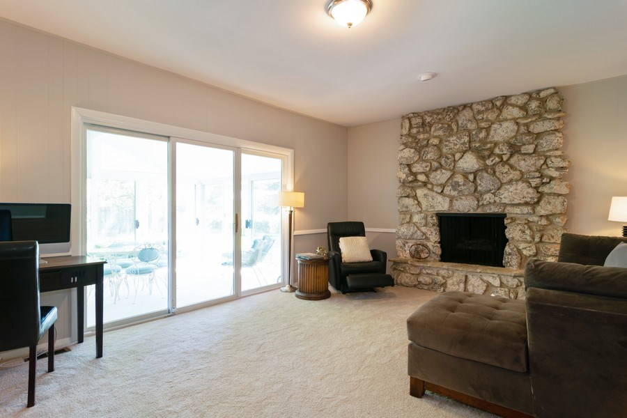 Real Estate Photography - 1739 N. Dover Lane, Arlington Heights, IL, 60004 - Family Room