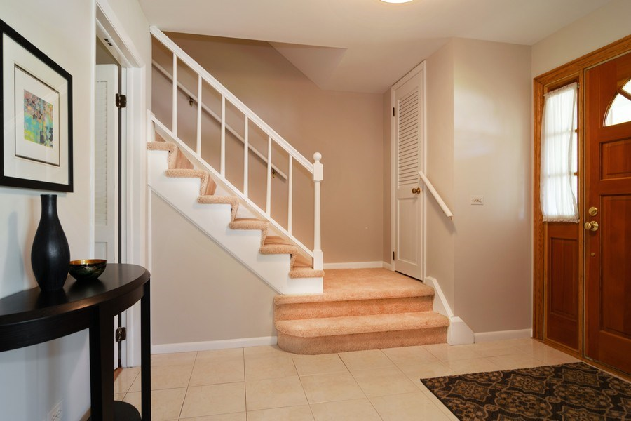 Real Estate Photography - 1739 N. Dover Lane, Arlington Heights, IL, 60004 - Foyer