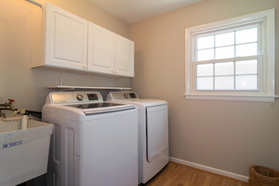 Real Estate Photography - 1739 N. Dover Lane, Arlington Heights, IL, 60004 - Laundry Room