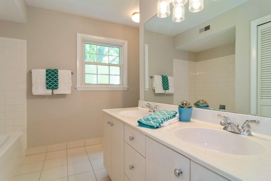 Real Estate Photography - 1739 N. Dover Lane, Arlington Heights, IL, 60004 - Bathroom