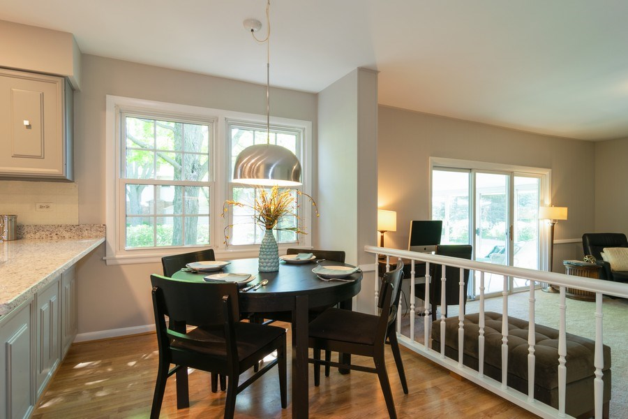 Real Estate Photography - 1739 N. Dover Lane, Arlington Heights, IL, 60004 - Breakfast Nook