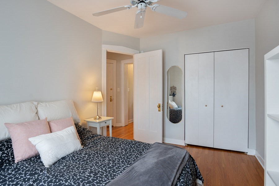 Real Estate Photography - 1020 West Barry Avenue, Unit 3, Chicago, IL, 60657 - Bedroom