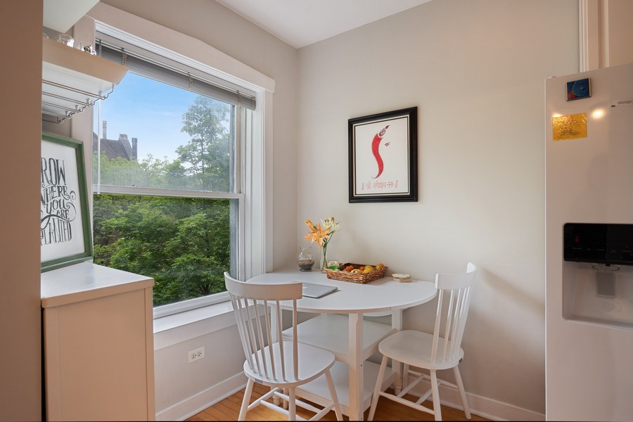 Real Estate Photography - 1020 West Barry Avenue, Unit 3, Chicago, IL, 60657 - Dining Area