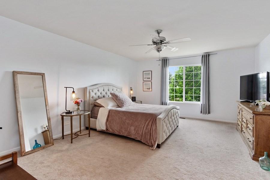 Real Estate Photography - 1374 S Dalton dr, Round Lake, IL, 60073 - Master Bedroom