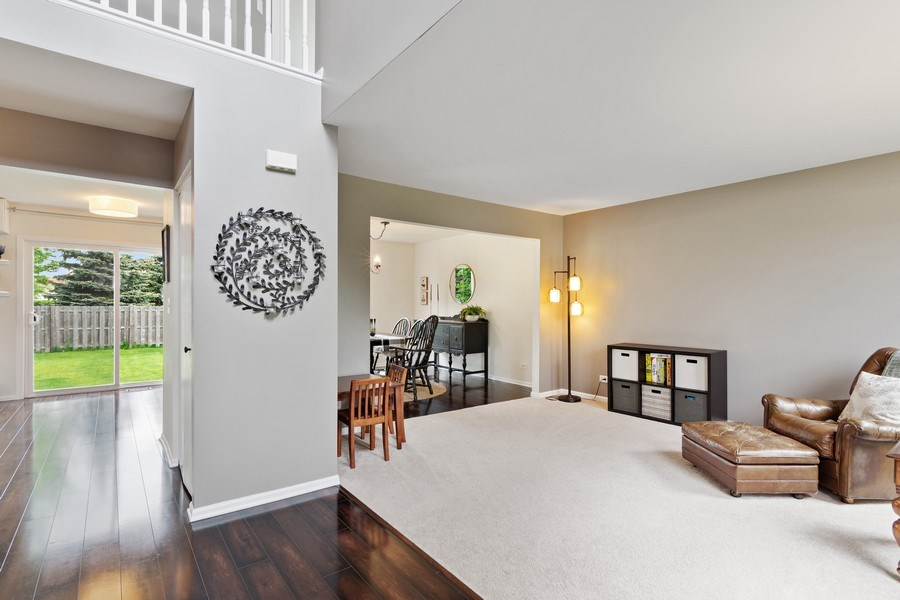 Real Estate Photography - 1374 S Dalton dr, Round Lake, IL, 60073 - Foyer/Living Room