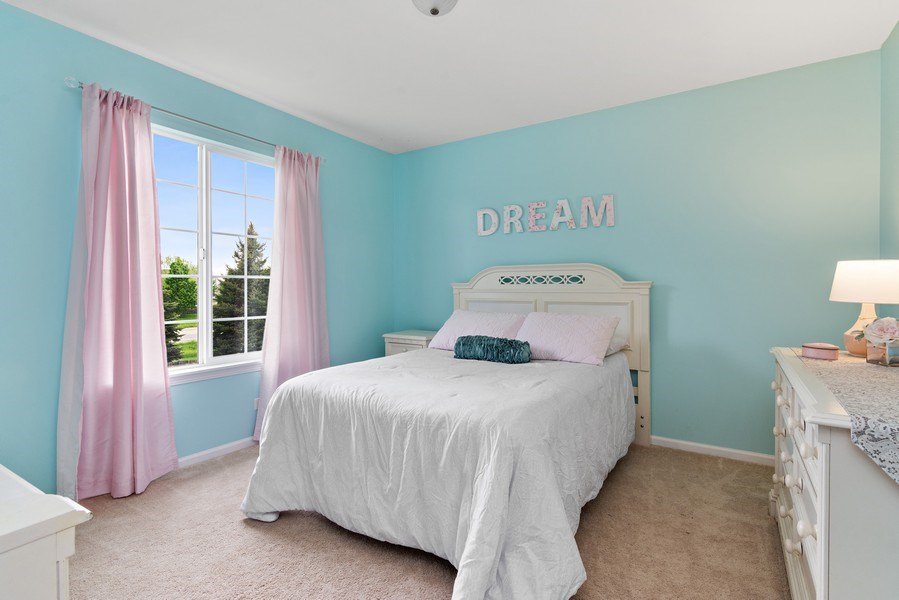 Real Estate Photography - 1374 S Dalton dr, Round Lake, IL, 60073 - 3rd Bedroom