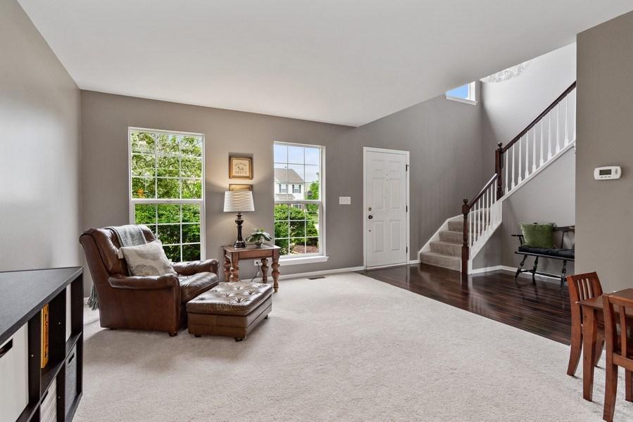 Real Estate Photography - 1374 S Dalton dr, Round Lake, IL, 60073 - Living Room
