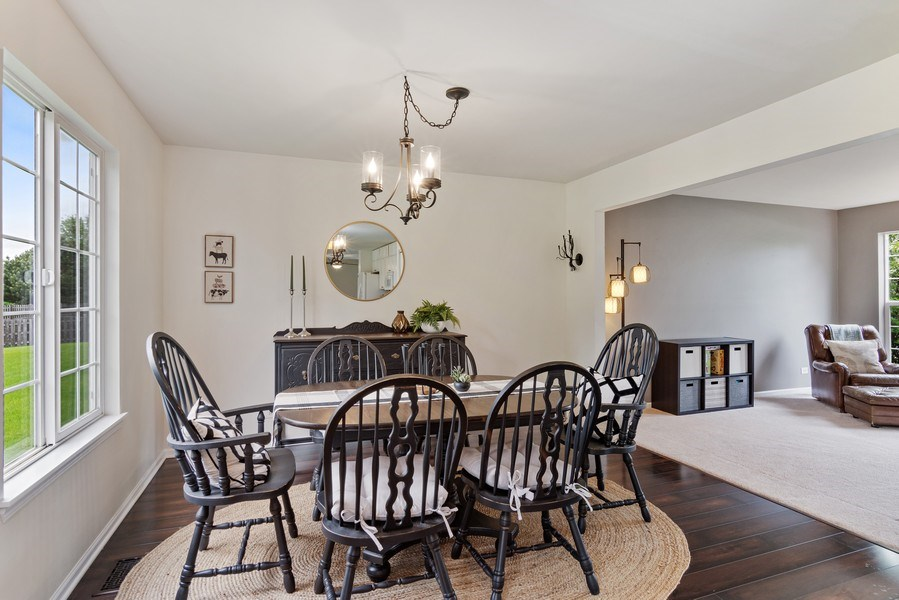 Real Estate Photography - 1374 S Dalton dr, Round Lake, IL, 60073 - Dining Room