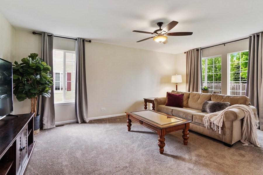 Real Estate Photography - 1374 S Dalton dr, Round Lake, IL, 60073 - Family Room