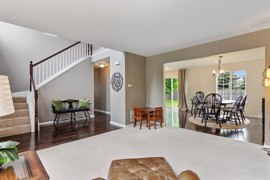 Real Estate Photography - 1374 S Dalton dr, Round Lake, IL, 60073 - Living Room / Dining Room