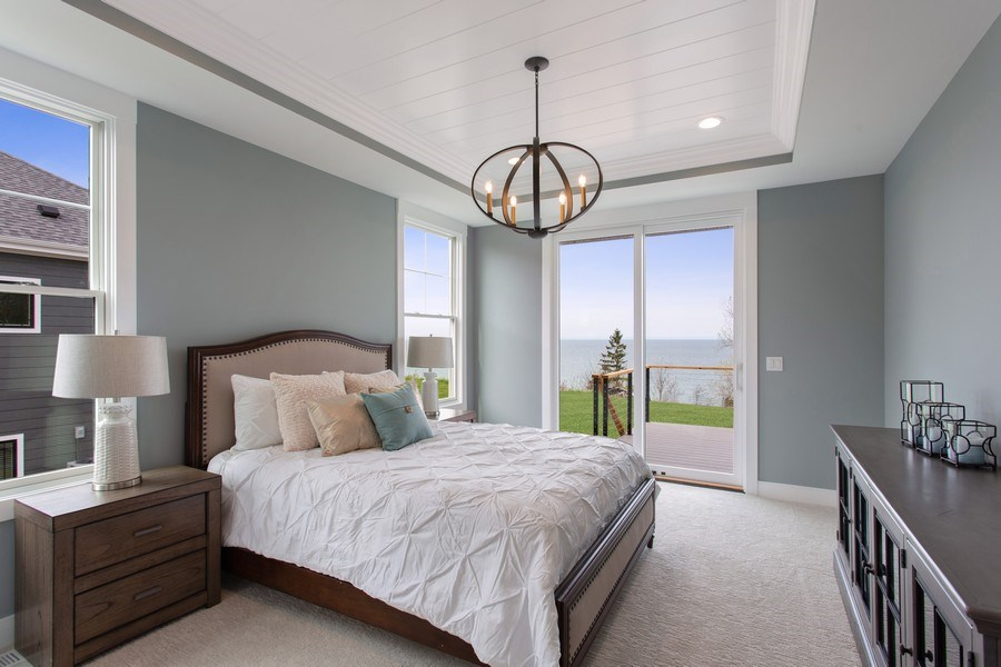 Real Estate Photography - 7390 Highfield Beach Drive, South Haven, MI, 49090 - Master Bedroom