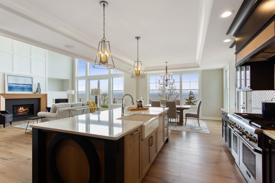 Real Estate Photography - 7390 Highfield Beach Drive, South Haven, MI, 49090 - Kitchen