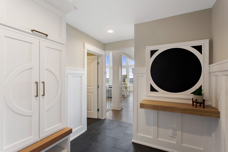 Real Estate Photography - 7390 Highfield Beach Drive, South Haven, MI, 49090 - Mudroom
