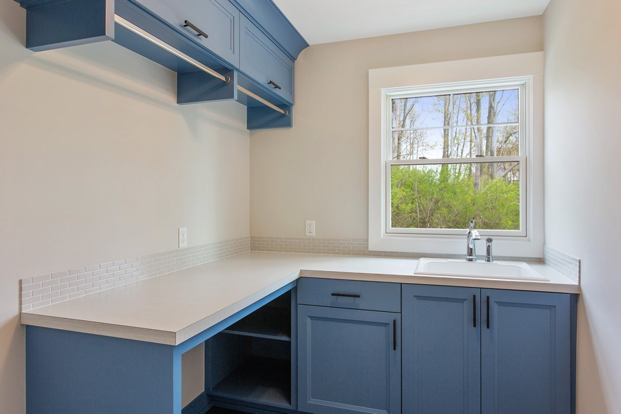 Real Estate Photography - 7390 Highfield Beach Drive, South Haven, MI, 49090 - Laundry Room